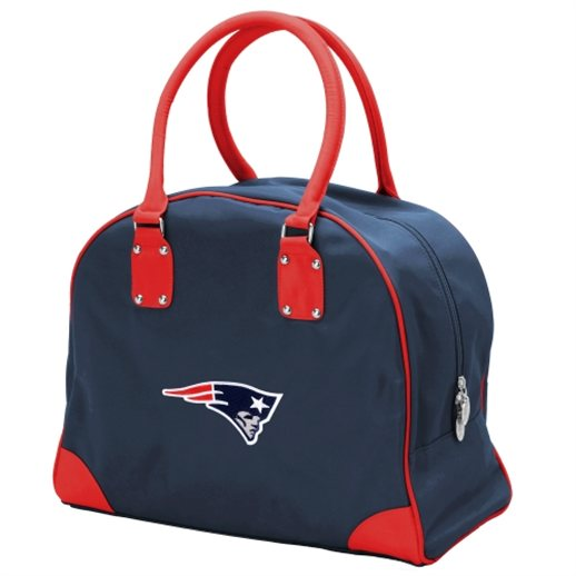 New England Patriots Womens Large Travel Overnighter Bag