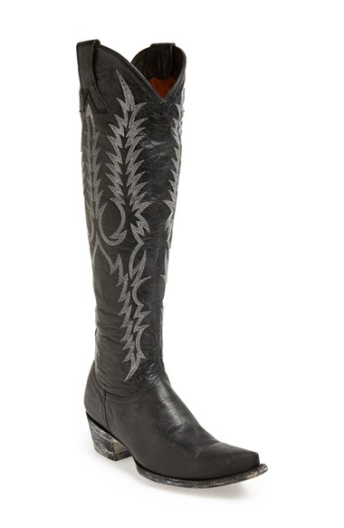 Old Gringo 'Mayra' Vintage Embroidery Boot in Black