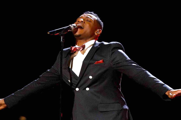 "Watch The Voice Season 12 Episode 17 Live Playoffs Night 1 Videos Monday, April 17, 2017. See the amazing Chris Blue of Team Alicia Keys sing Rihanna's hit song ""Love on the Brain"" beautifully! It was absolutely fantastic. Be sure to watch the video below to see his great performance."