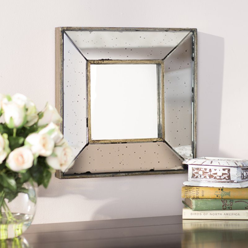 Lark Manor Traditional Square Glass Wall Mirror wayfair cyber monday sale