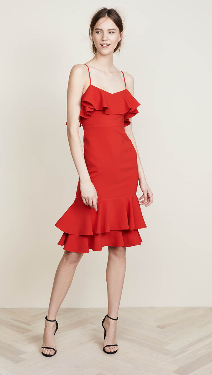 LIKELY Cerillo Dress Scarlet shopbop sale event of the season