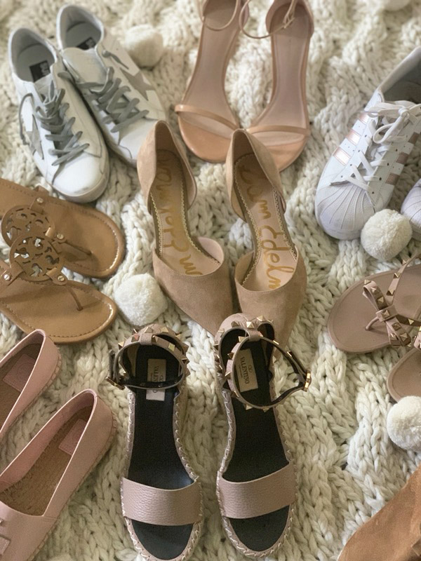 Style expert and fashion blogger Candie Anderson the scoop on trendy spring 2019 shoes for women. You will love them all especially gorgeous Stuart Weitzman heeled sandals.