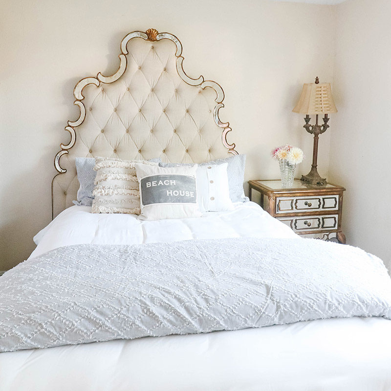 Lifestyle expert Candie Anderson has the scoop on how to create the coastal inspired bedroom of your dreams while sticking to a budget.