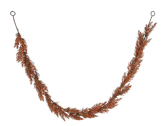 6ft. Orange Wheat with Berry Garland by Ashland fall garlands best