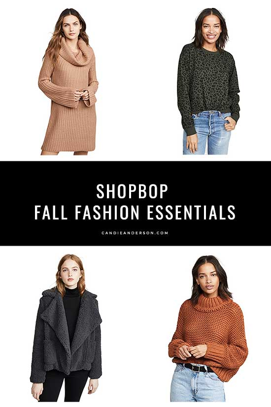 Style expert, fashion blogger and journalist Candie Anderson has the scoop on 50 of the best fall fashion essentials for women in a variety of styles, colors, prints and price ranges. You can save on items by Stuart Weitzman, Golden Goose, Tory Burch and more at up to 25% off.